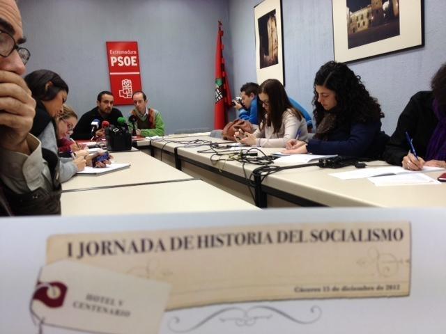 El PSOE provincial pone en valor su historia reciente
