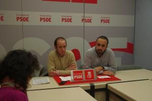 Eduardo Béjar y Fernando Ayala -PSOE provincia de Cáceres-