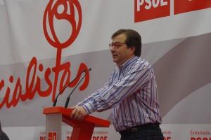 Guillermo Fernández Vara en las VI Jornadas Socialistas del Valle del Jerte -PSOE Provincia de Cáceres-