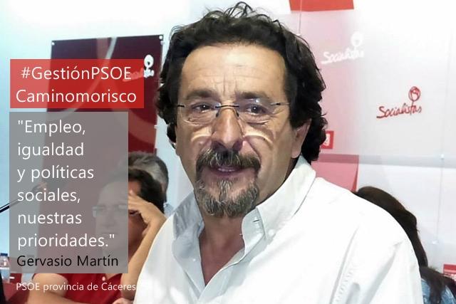 Gervasio Martín: «Hemos sido discriminados por la Diputación y la Junta del PP»