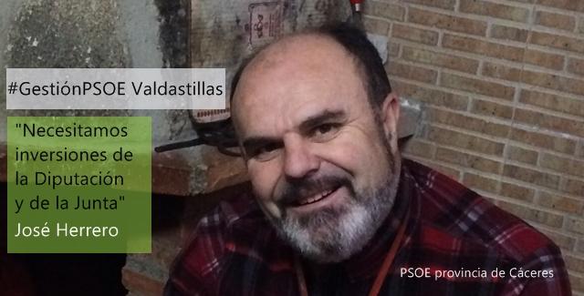 José Ramón Herrero: «Necesitamos inversiones de la Diputación y de la Junta»