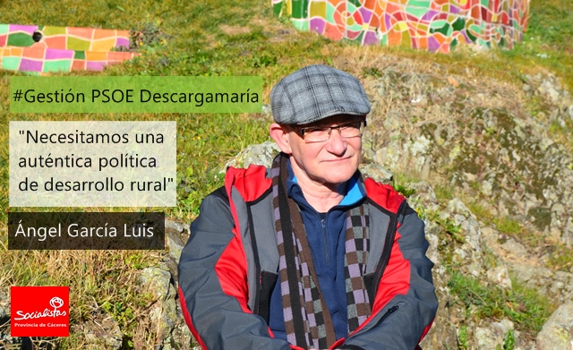 Ángel García: «Necesitamos una auténtica política de desarrollo rural»