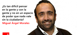 """Miguel Ángel Morales: """"Momentos decisivos para Extremadura"""""""