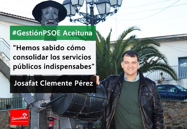 Josafat Clemente: «Necesitamos políticas de empleo para solucionar la herencia de estos cuatro años»