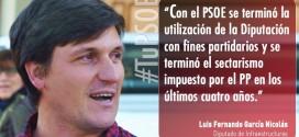 """Fernando García Nicolás: """"Hemos venido a generar progreso, empleo e igualdad y para ello es imprescindible todo el mundo"""""""