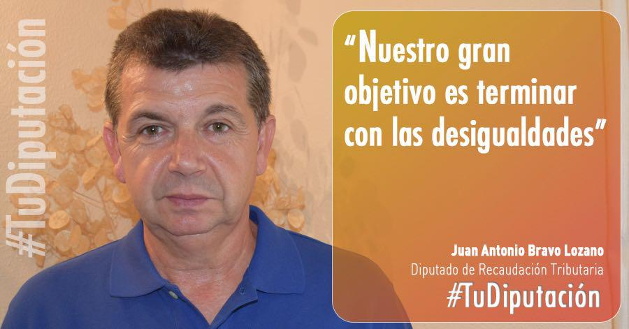 Juan Antonio Bravo: «Nuestra Diputación es la de la igualdad»