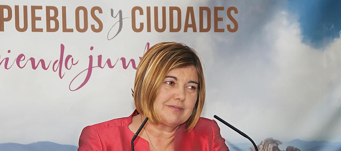 """Charo Cordero: """"Necesitamos un enfoque local en todas las políticas para luchar contra el despoblamiento"""""""