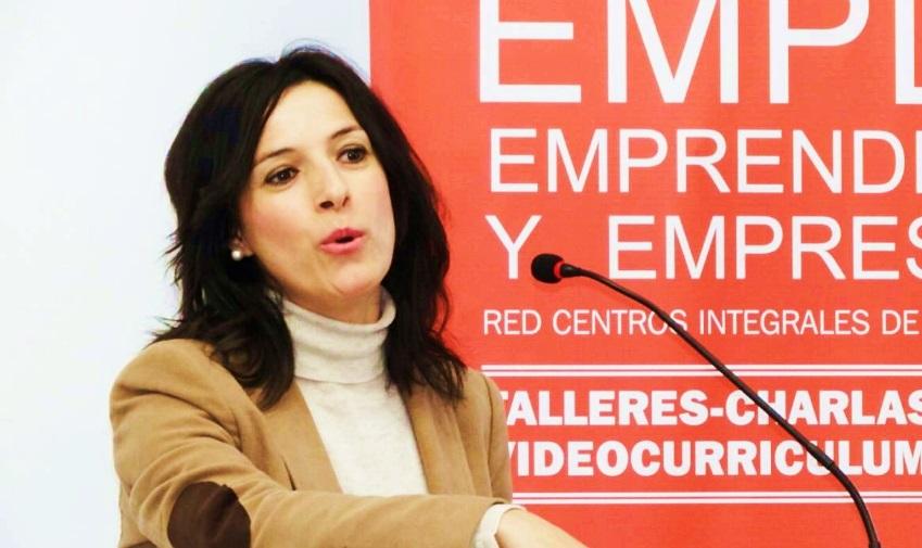 Esther Gutiérrez destaca el modelo de las Lanzaderas de Empleo como ejemplo de política activa de empleo efectiva