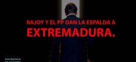 Rajoy excluye a Extremadura de las ayudas a la sequía