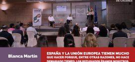 """Blanca Martín: """"O luchamos contra la mayor amenaza que sufre el planeta, o seremos refugiados más pronto que tarde"""""""