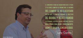 """Lara Garlito: """"Cuentas con rigor"""""""
