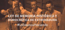 Aprobado el Proyecto de Ley de Memoria Histórica y Democrática de Extremadura