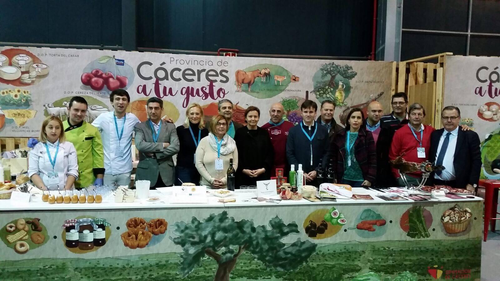 La provincia de Cáceres muestra toda su calidad gastronómica en el Festival Gastronómico GijónSeCome