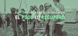 Charo Cordero pone de manifiesto el éxito de la Campaña de Arbolado del Vivero provincial