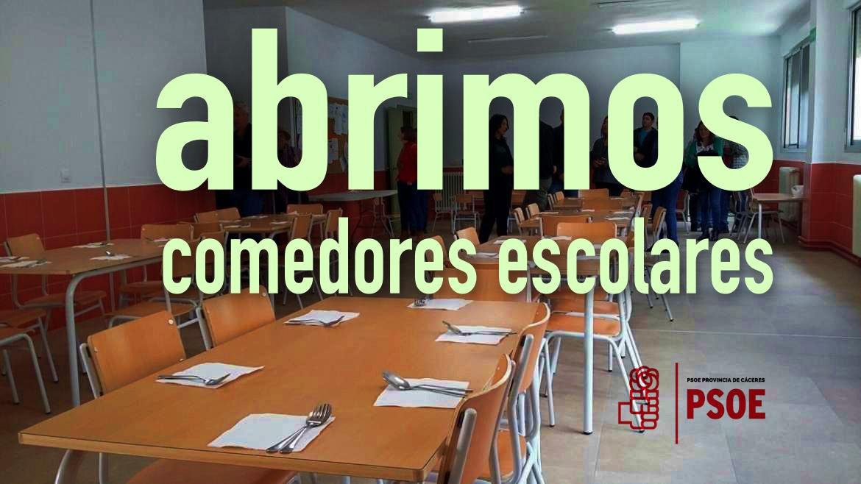 Esther Gutiérrez visita el nuevo comedor escolar de Jarandilla de la ...