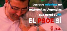 Mientras otros calumnian, el PSOE recupera la sanidad pública que destrozó el PP