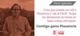 Raúl Iglesias gana las primarias y será el candidato del PSOE a la alcaldía de Plasencia