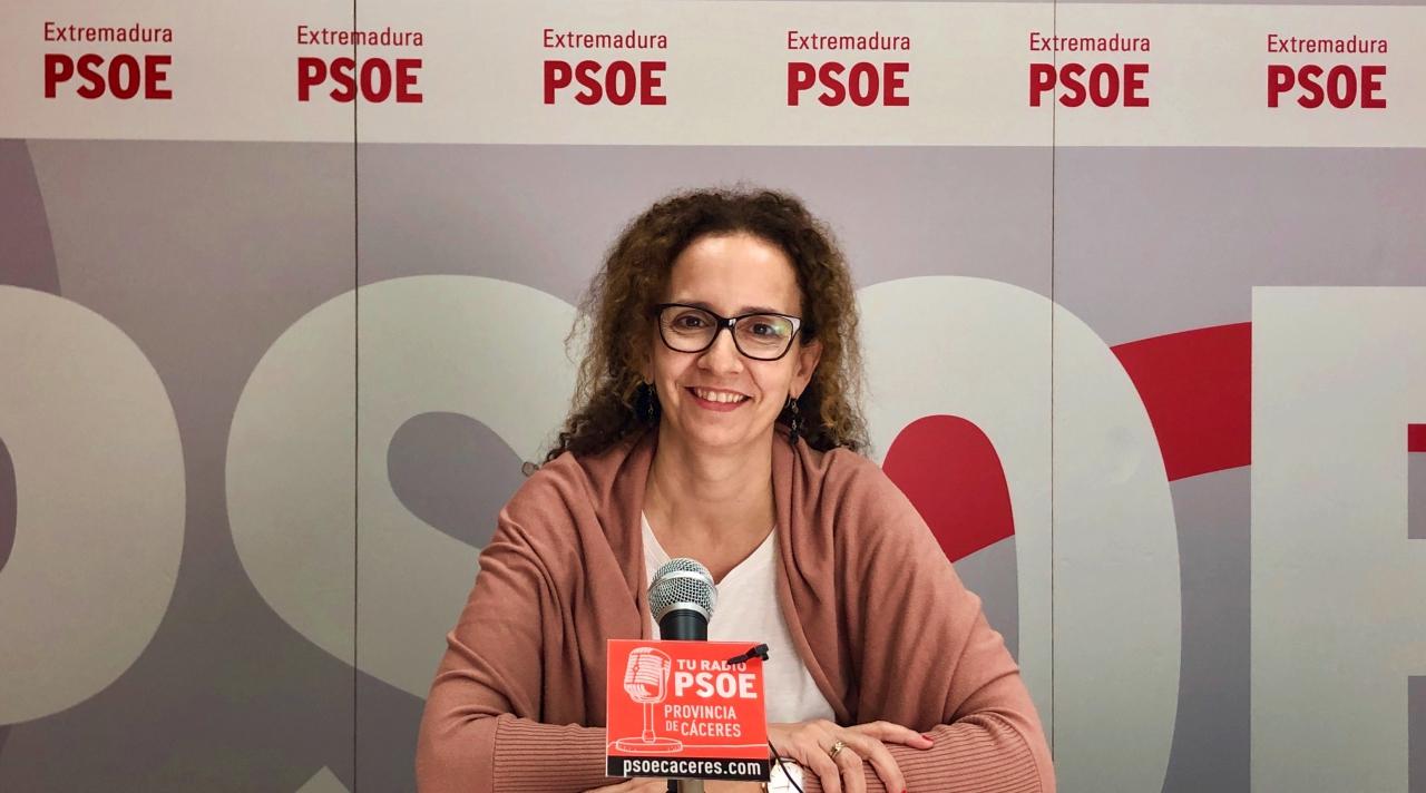 """Pilar Lucio: """"Representamos a la ciudadanía cacereña y defendemos los intereses de toda España en el Congreso"""""""