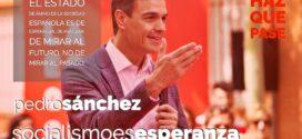 Pedro Sánchez: El PSOE es el único partido que garantiza la estabilidad y las transformaciones para avanzar