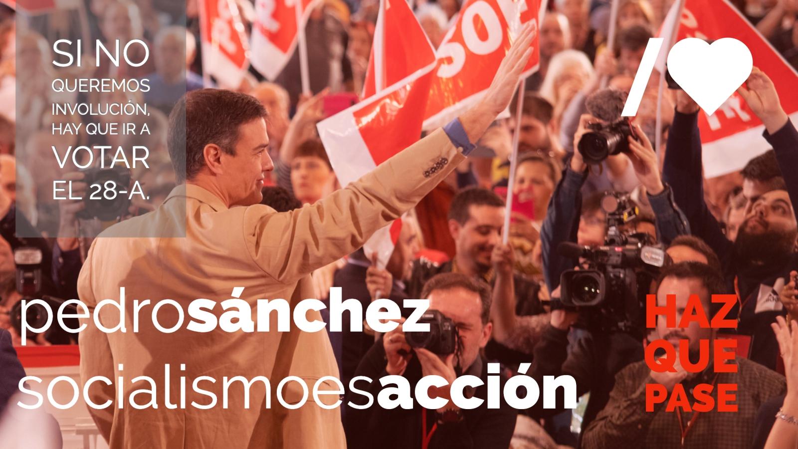 """Pedro Sánchez: """"En 10 meses hemos hecho política para las personas"""" mientras """"las tres siglas de la derecha solo ofrecen corrupción, confrontación y desigualdad"""""""