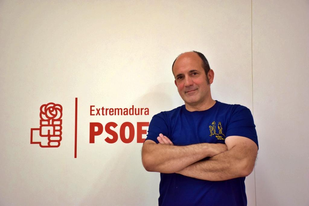 Ángel Sánchez: «En El Torno se respira cambio y el PSOE lo protagonizará»