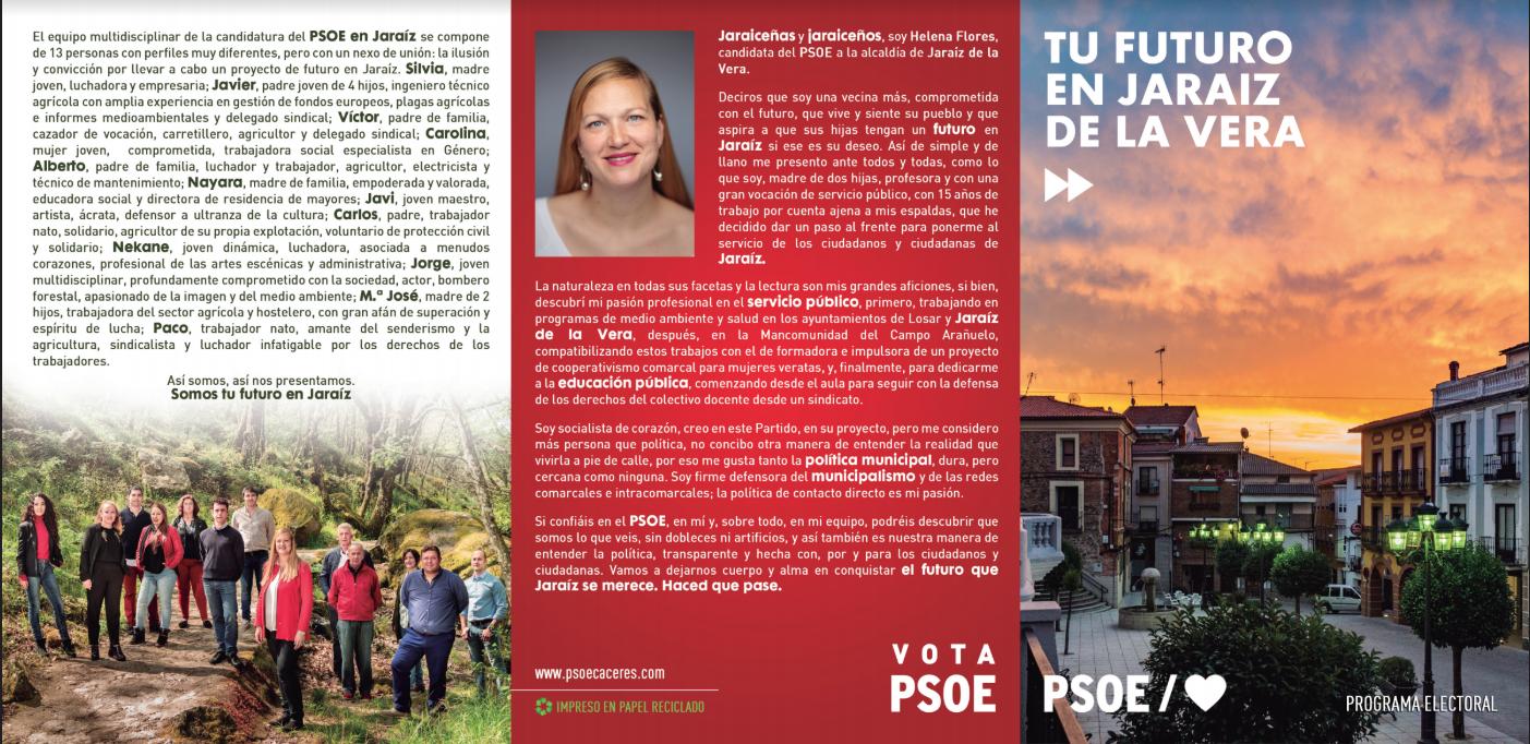 Helena Flores: Potenciaremos el relevo generacional en las explotaciones agroganaderas de Jaraíz de la Vera