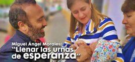 ☝️Miguel Á. Morales: «Llenar las urnas de esperanza» #VotaPSOE🌹✊❤️