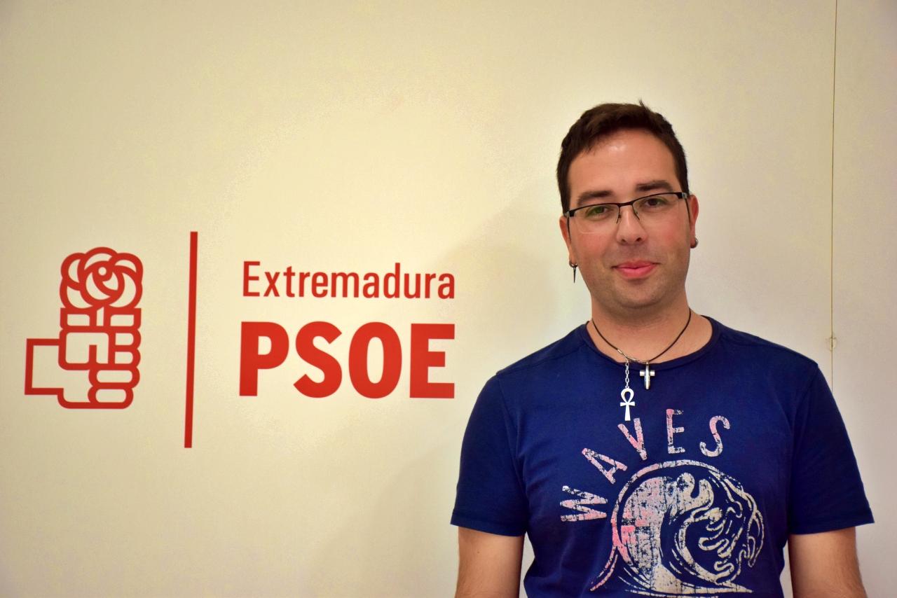 Rubén Francisco González: «Santibáñez el Alto está saneado gracias a la gestión del PSOE»