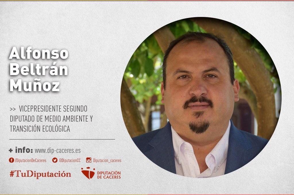 Alfonso Beltrán anuncia la puesta en marcha de 44 puntos de recarga en la provincia en los próximos dos años