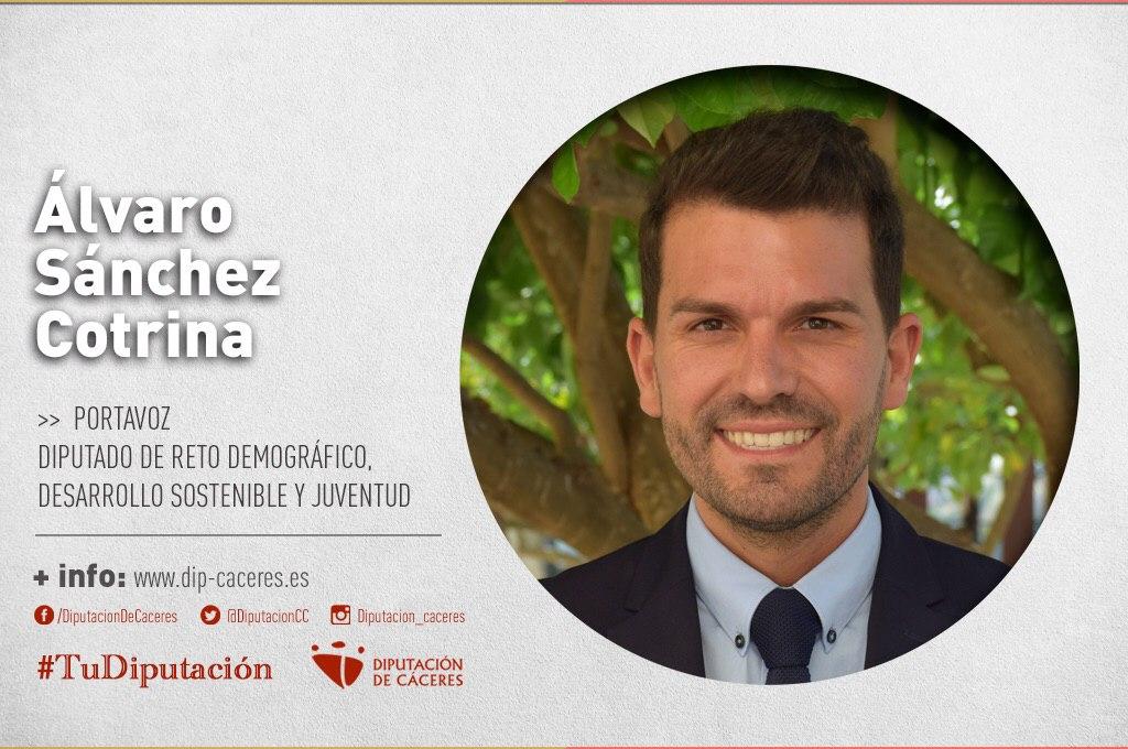 Conoce a #TuDiputado por el Partido Judicial de Valencia de Alcántara: Álvaro S. Cotrina