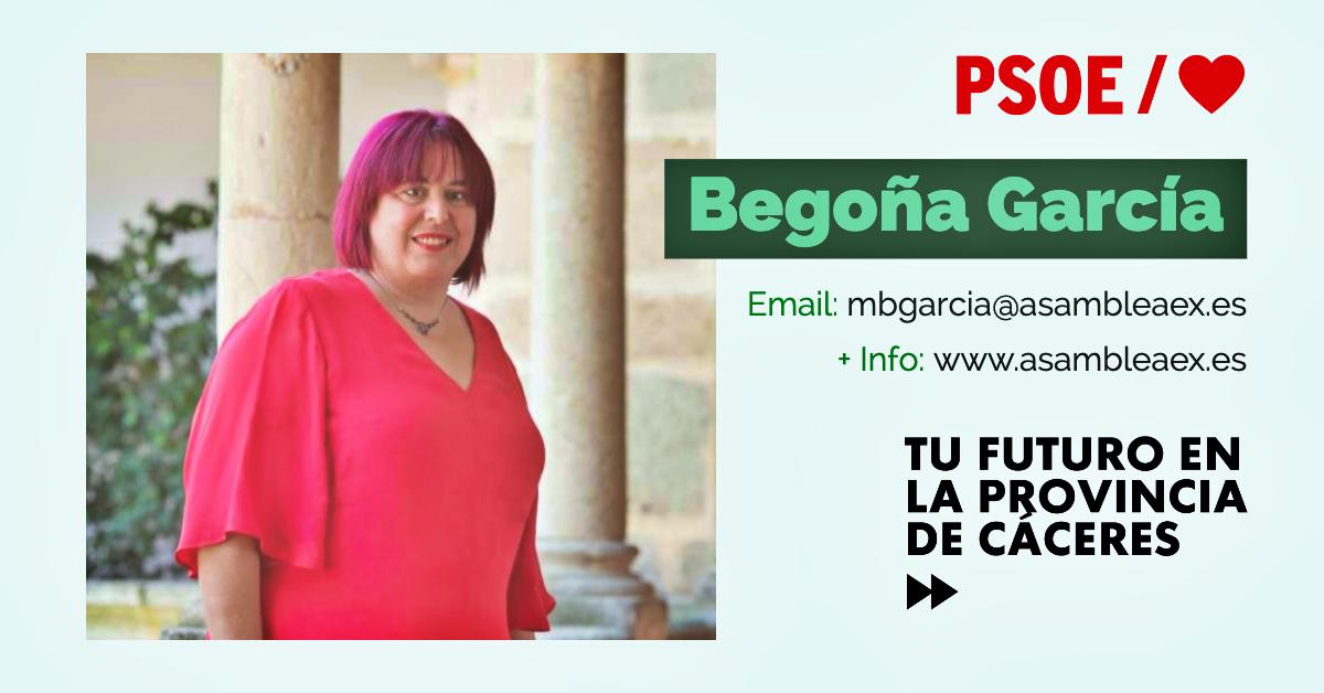 Conoce a #TuDiputada regional: Begoña García