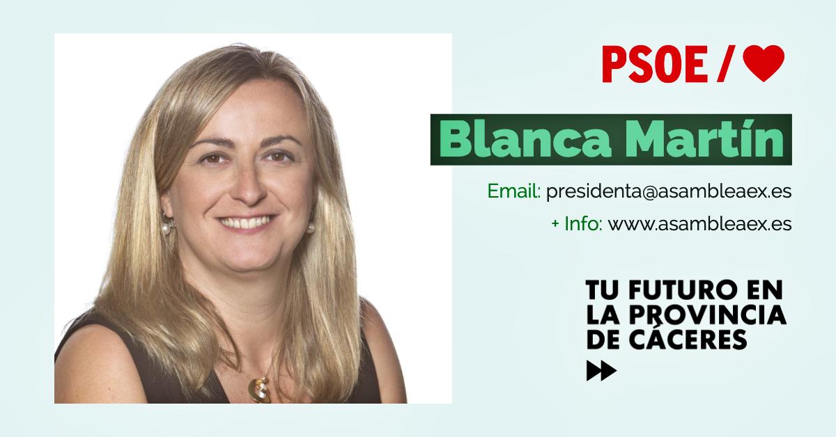Conoce a #TuDiputada regional: Blanca Martín