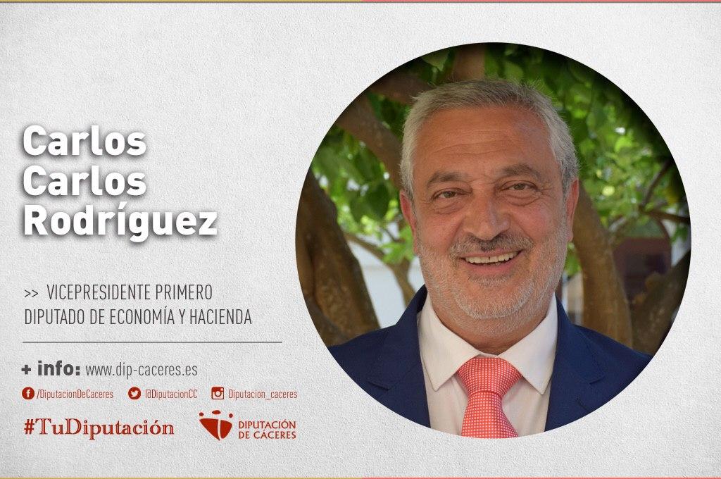 Conoce a #TuDiputado por el Partido Judicial de Coria: Carlos Carlos Rodríguez