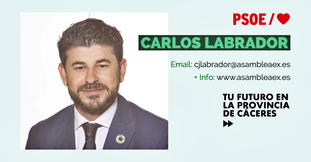 Conoce a #TuDiputado regional: Carlos Labrador