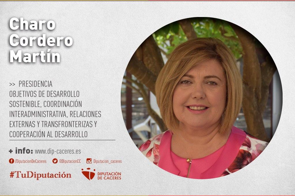 Conoce a #TuDiputada por el Partido Judicial de Navalmoral de la Mata: Charo Cordero
