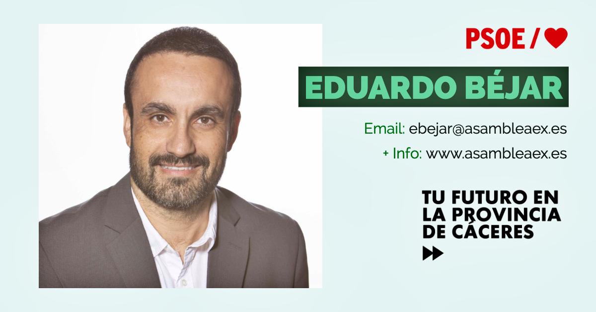 Conoce a #TuDiputado regional: Eduardo Béjar