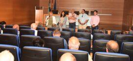 Charo Cordero reúne a los empresarios de la construcción para informarles de la situación de la obra pública de la Institución
