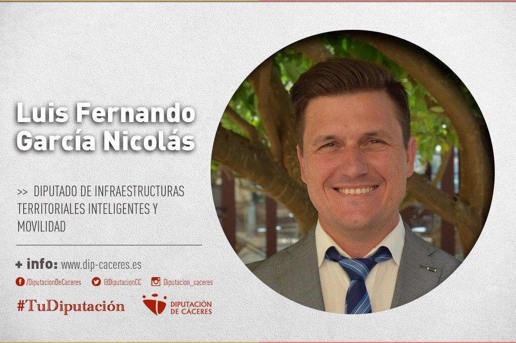 Conoce a #TuDiputado por el Partido Judicial de Plasencia: Fernando García Nicolás