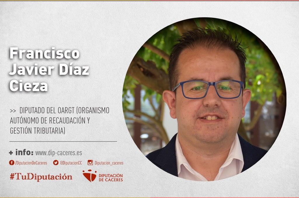 Conoce a #TuDiputado por el Partido Judicial de Navalmoral de la Mata: Francisco Javier Díaz Cieza