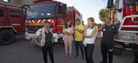 Isabel Ruiz Correyero visita el SEPEI y prevé un año importante con los tres nuevos parques de bomberos