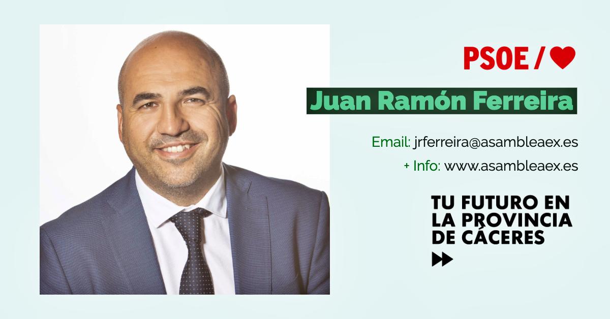 Conoce a #TuDiputado regional: Juan Ramón Ferreira