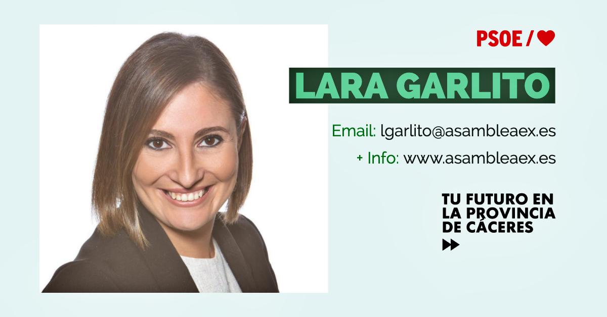 Lara Garlito: «Siempre hay un lugar y un momento»