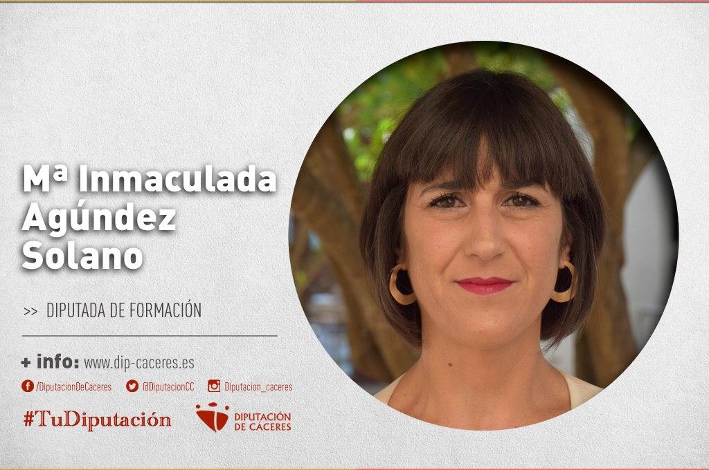 Conoce a #TuDiputada por el Partido Judicial de Cáceres: Inmaculada Agúndez Solano