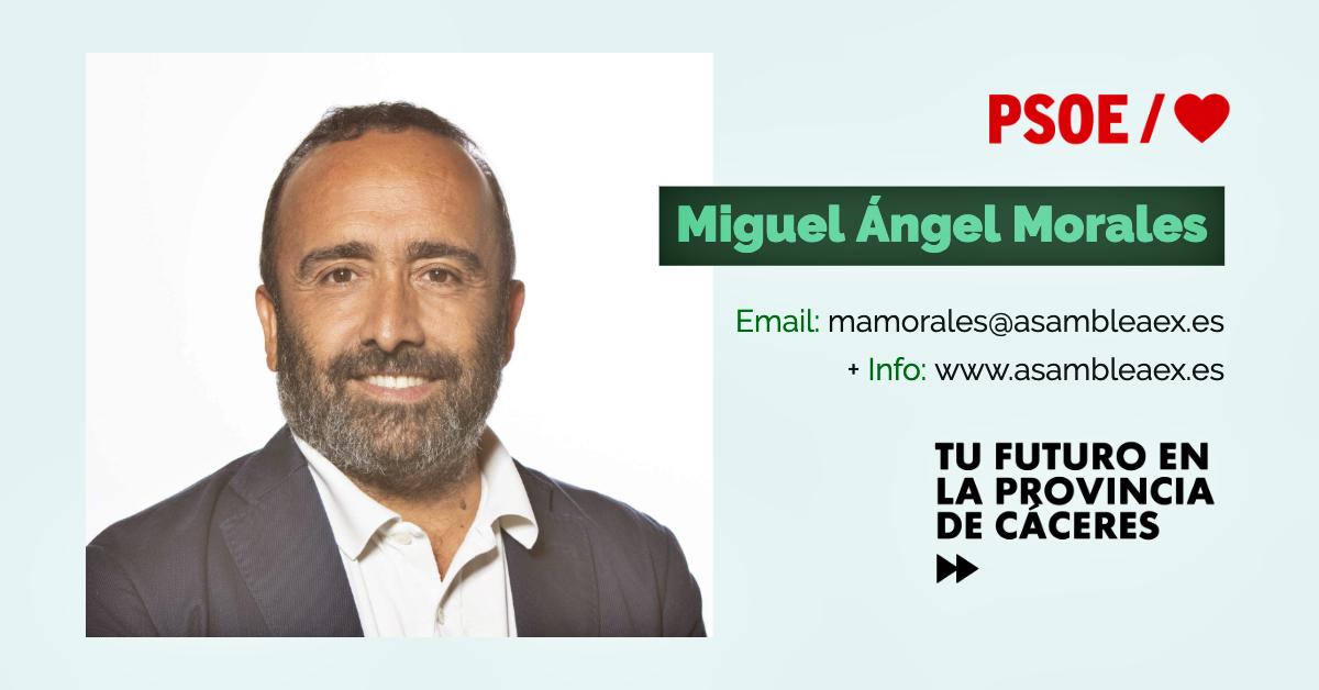 Conoce a #TuDiputado regional: Miguel Á. Morales