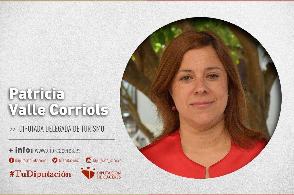 Conoce a #TuDiputada por el Partido Judicial de Plasencia: Patricia Valle Corriols