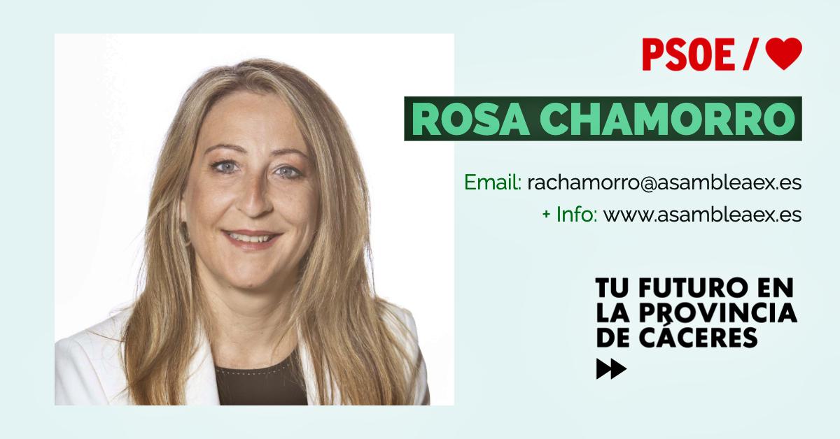 Conoce a #TuDiputada regional: Rosa Chamorro