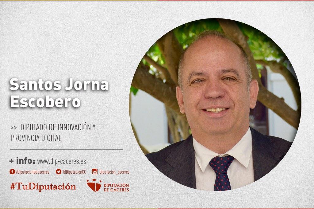 Conoce a #TuDiputado por el Partido Judicial de Cáceres: Santos Jorna