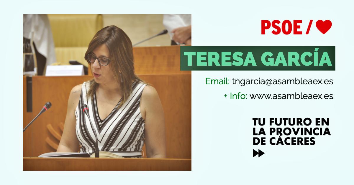 Conoce a #TuDiputada regional: Teresa García