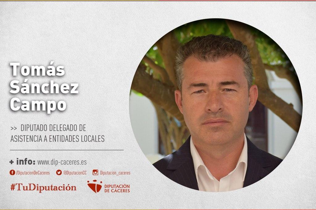 Conoce a #TuDiputado por el Partido Judicial de Trujillo: Tomás Sánchez Campo