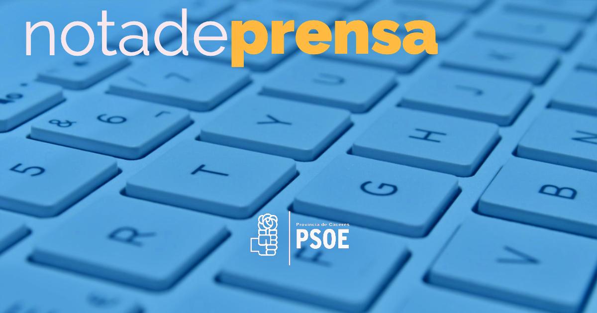 El PSOE de la Provincia de Cáceres lamenta la reunión entre el DG de Sostenibilidad y el condenado por maltrato Alfredo Aguilera